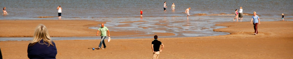 Skegness Beach, Lincolnshire