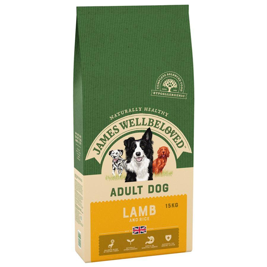James Wellbeloved Adult Lamb & Rice