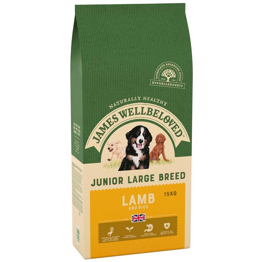 James Wellbeloved Adult Lamb & Rice Large Breed - 15kg