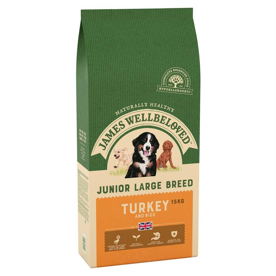 James Wellbeloved Adult Turkey & Rice Large Breed