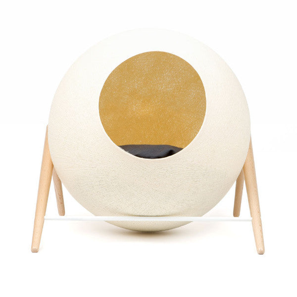 The Ball Cat Bed by Meyou - Champagne Cocoon