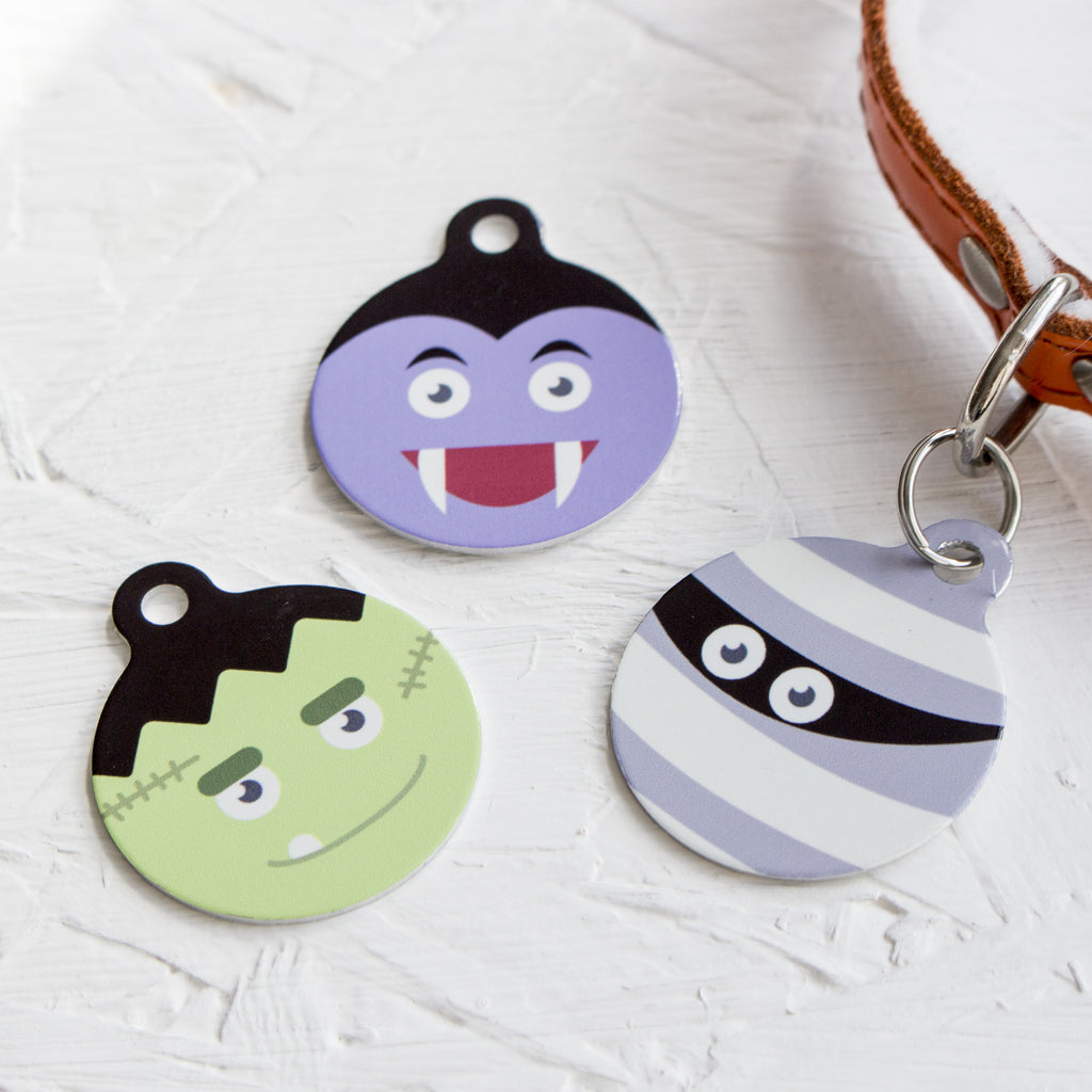 We Love To Create Personalised Bauble Dog Tags in Monster - PurrfectlyYappy