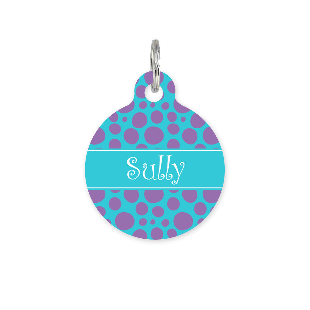 We Love To Create Personalised Bauble in Spotty - PurrfectlyYappy