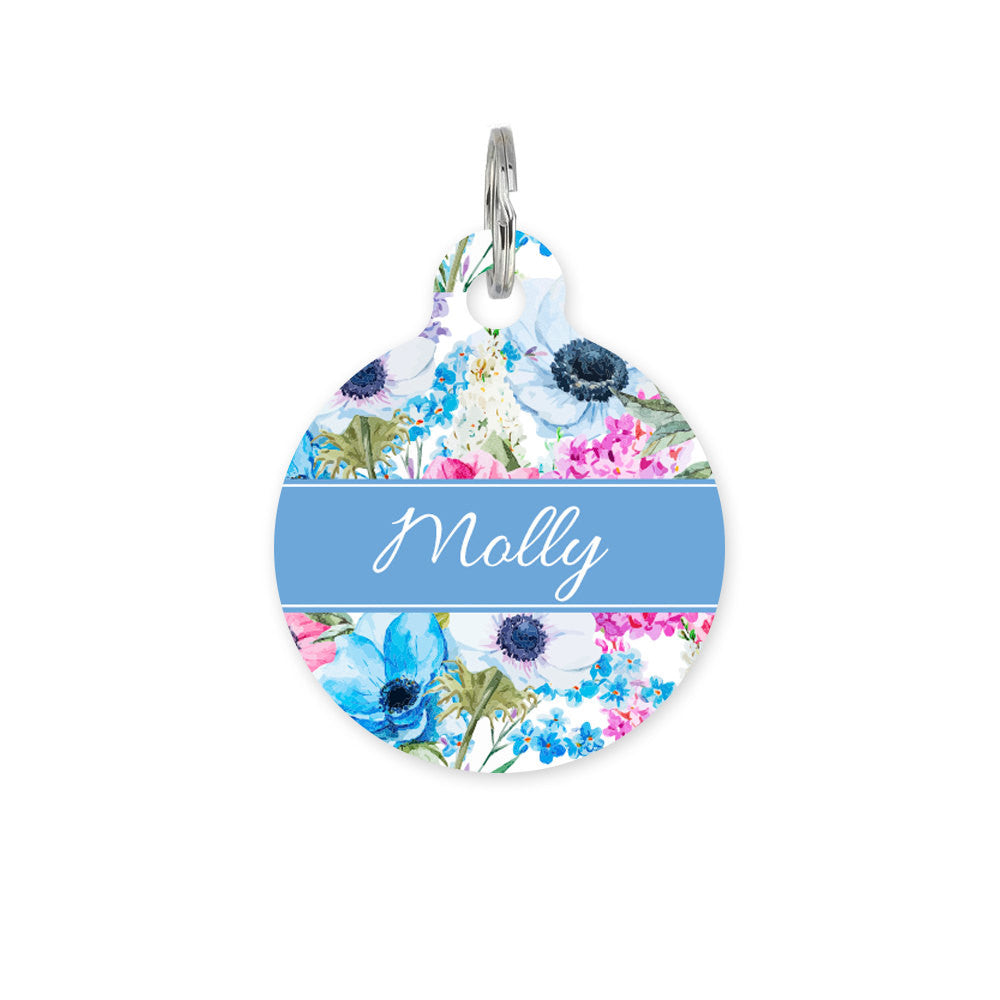 We Love To Create Personalised Bauble in Spring Bloom - PurrfectlyYappy