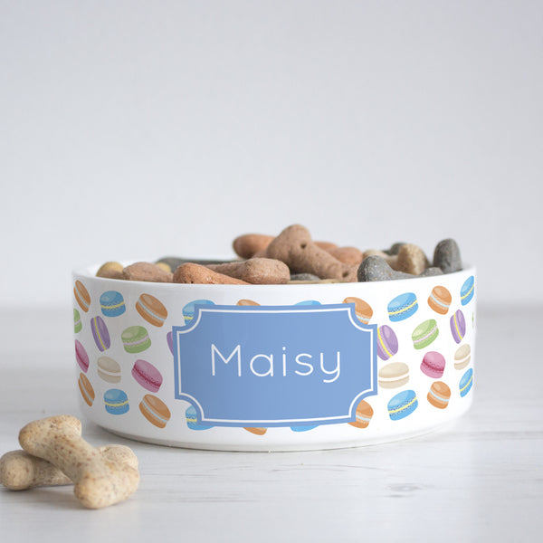 We Love To Create Personalised Bowl in Macaron - PurrfectlyYappy