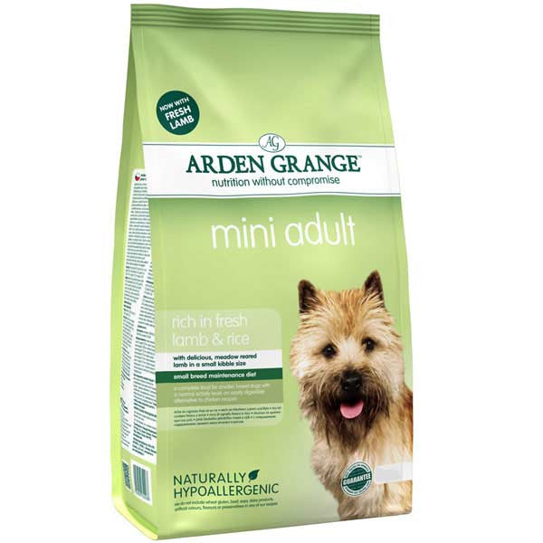 Arden Grange Mini Adult Lamb & Rice - PurrfectlyYappy