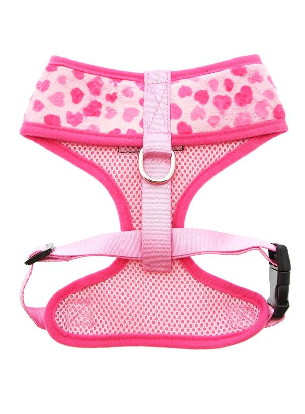 Urban Pup Pink Hearts Dog Harness