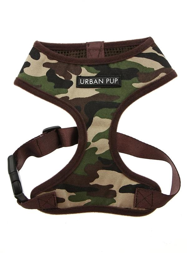 Urban Pup Camouflage Dog Harness