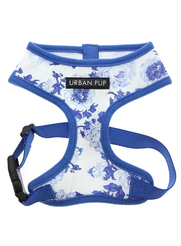 Urban Pup Blue Floral Bouquet Dog Harness