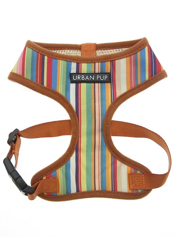 Urban Pup Henley Striped Dog Harness