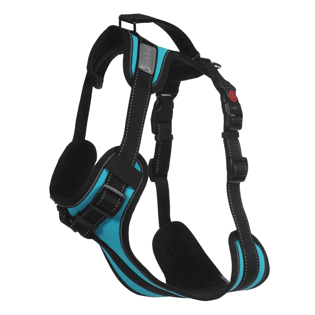Rukka Solid Dog Harness Blue
