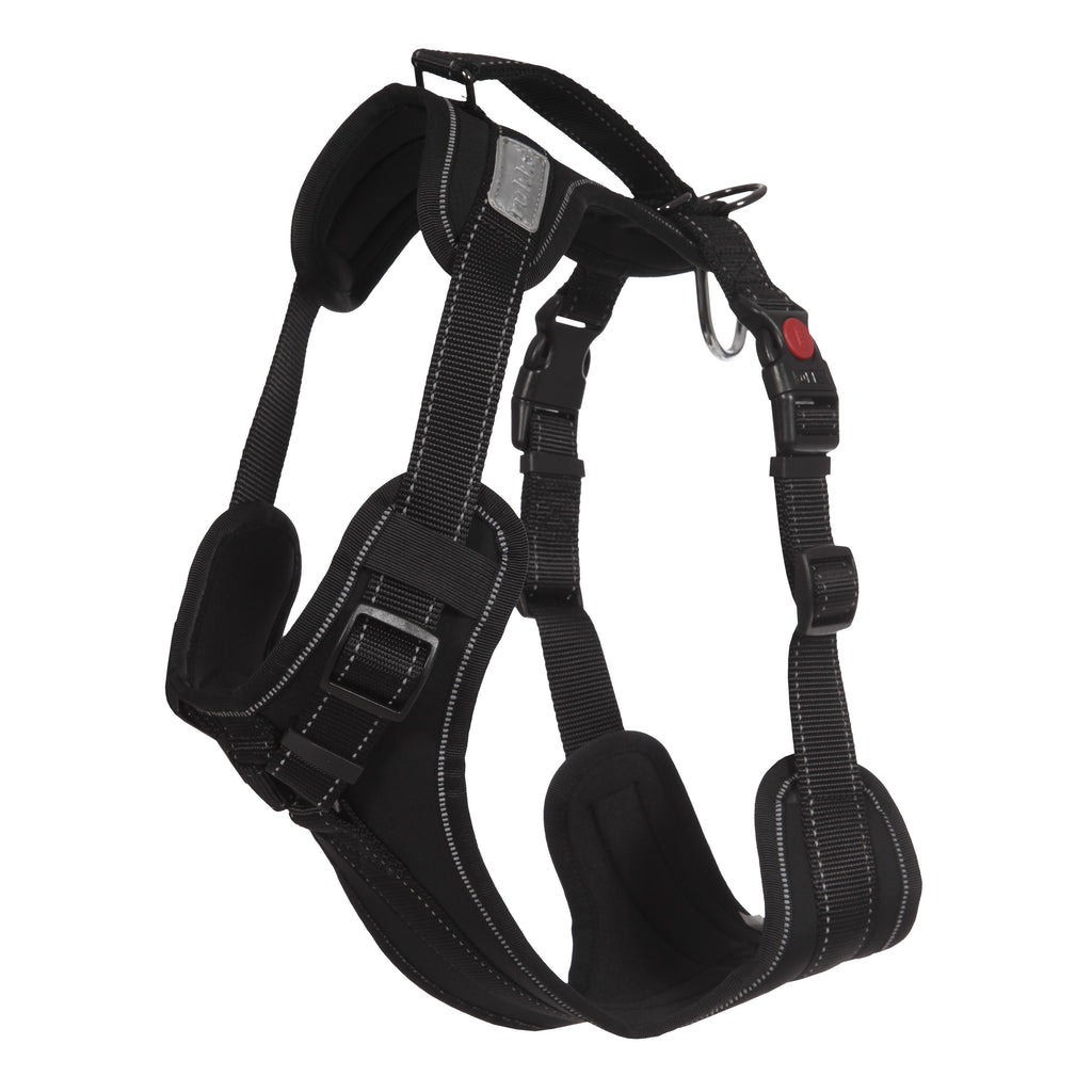 Rukka Solid Dog Harness Black