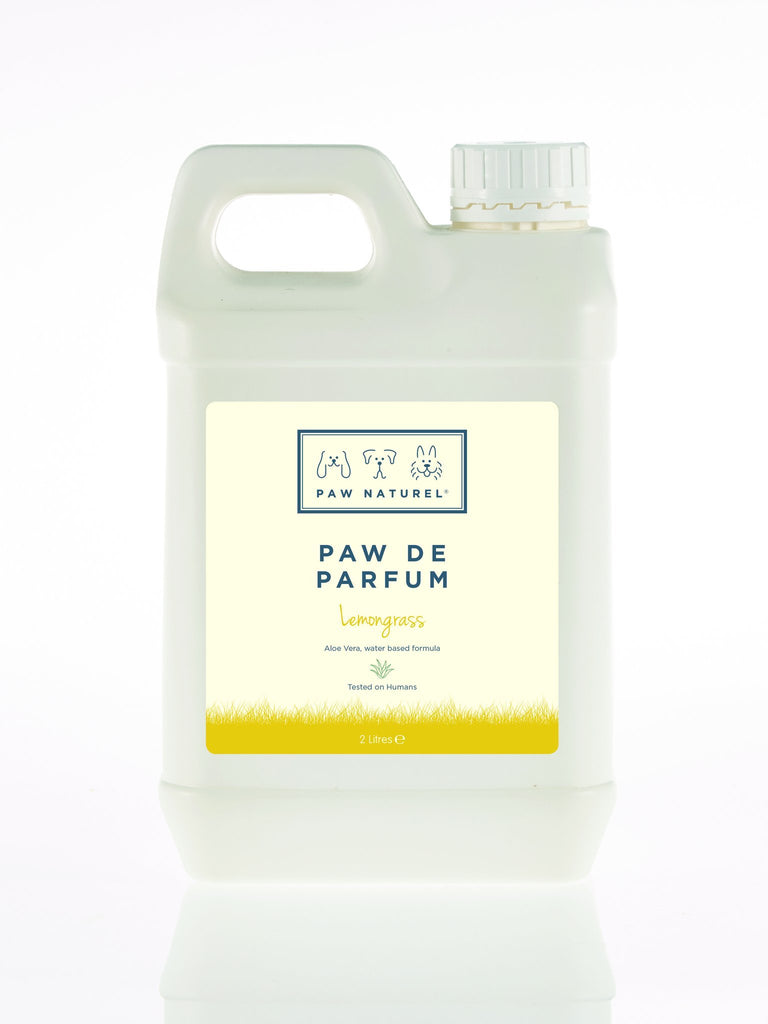 Paw Naturel Paw De Parfum Lemongrass 2 Litre Natural Dog Fragrance