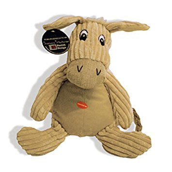 Danish Design Doris The Natural Donkey Plush Dog Toy - PurrfectlyYappy