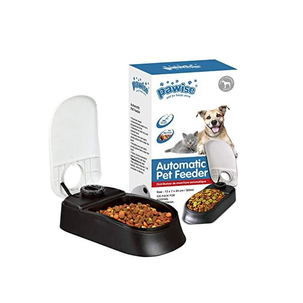 PAWISE Automatic Pet Feeder Single