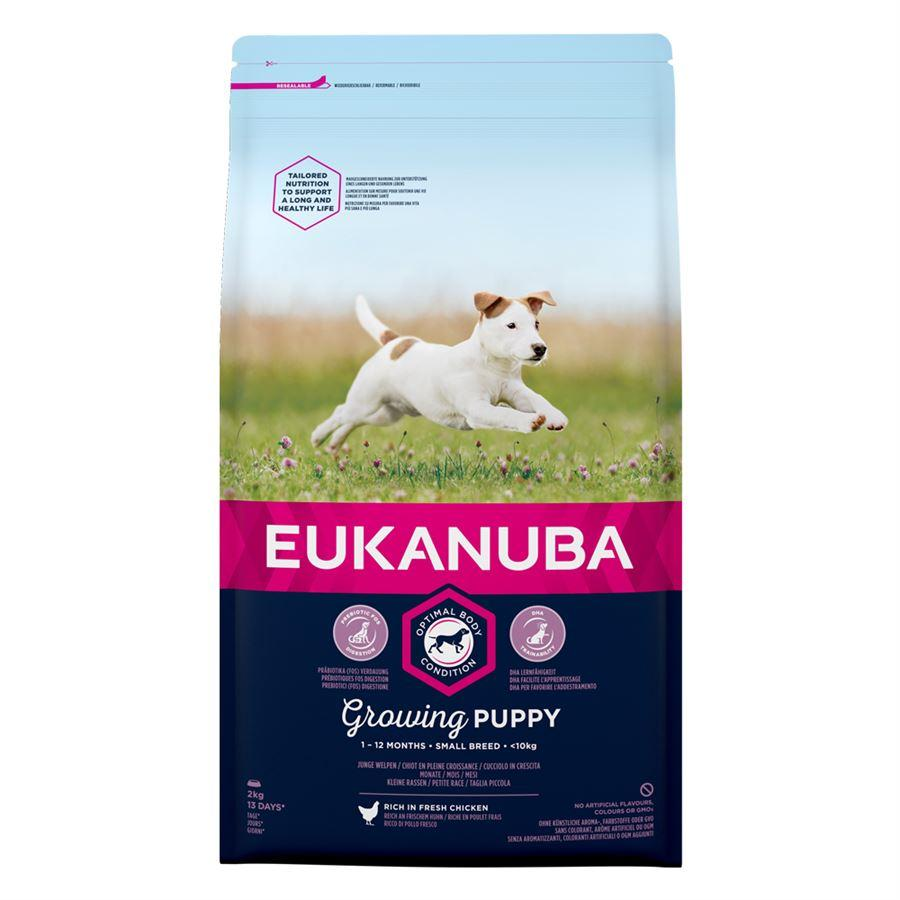 Eukanuba Puppy/Junior Small Breed With Chicken 12kg