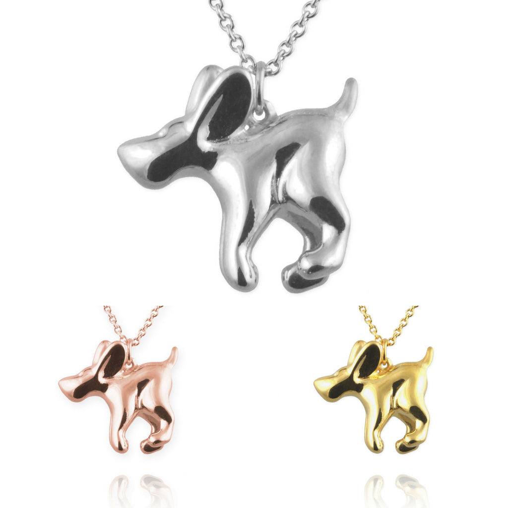 Jana Reinhardt Bouncing Dog Necklace - PurrfectlyYappy