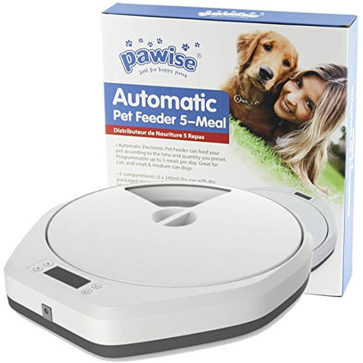 PAWISE Automatic Pet Feeder 5 Meal