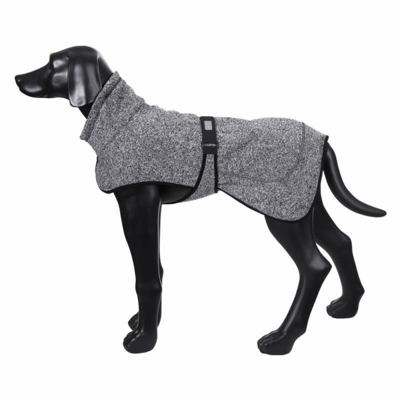 Rukka Comfy Fleece Black Mix 990 Dog Jacket In Grey