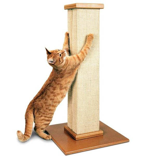 SmartCat Ultimate Scratching Post - PurrfectlyYappy