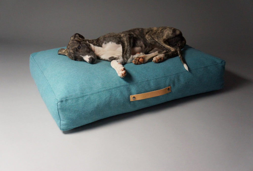 Labbvenn Copenhagen Dog Bed in Teal - PurrfectlyYappy
