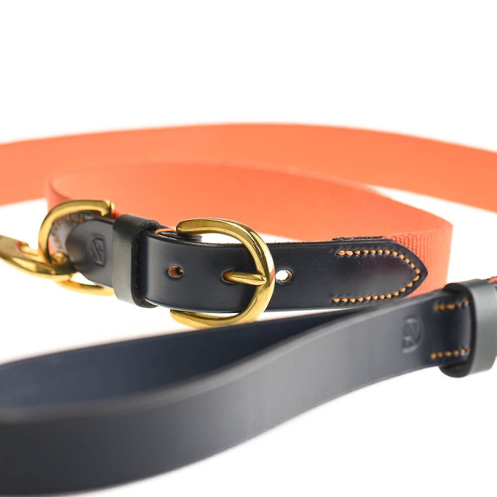 Doggie Apparel Leather Dog Collar - Arlington - PurrfectlyYappy
