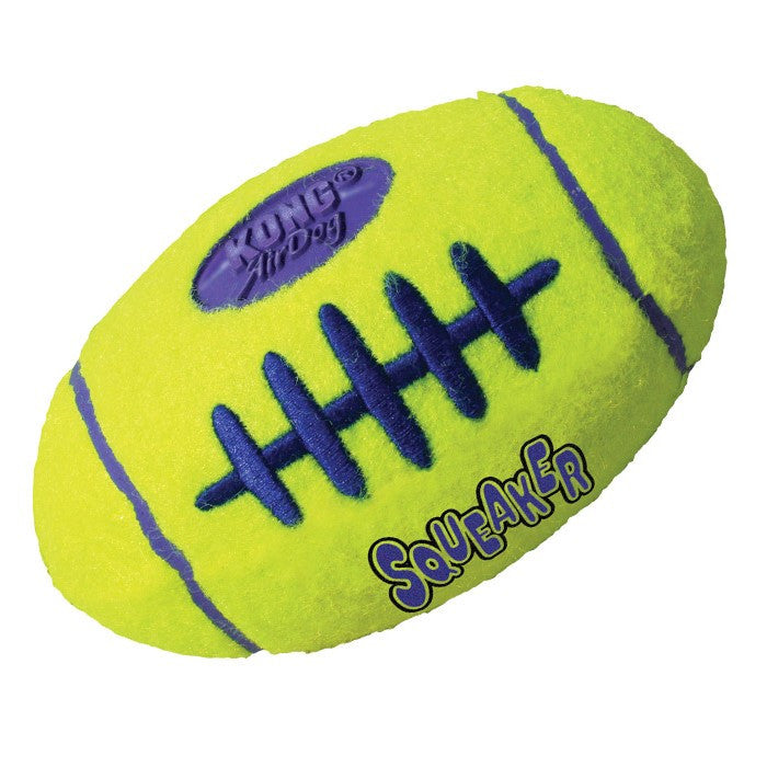 Air Kong Squeaker Football - PurrfectlyYappy