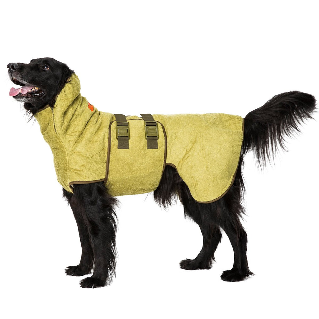 Siccaro SupremePro Dog Drying Coat - Bamboo - PurrfectlyYappy