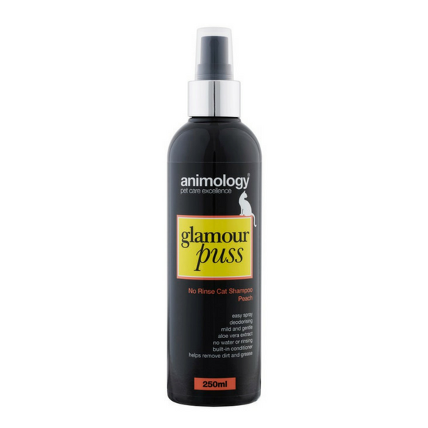 Animology Glamour Puss No Rinse Cat Shampoo Peach