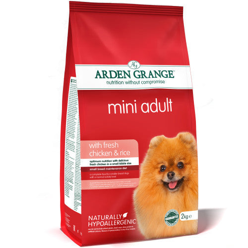 Arden Grange Mini Adult Chicken & Rice - PurrfectlyYappy