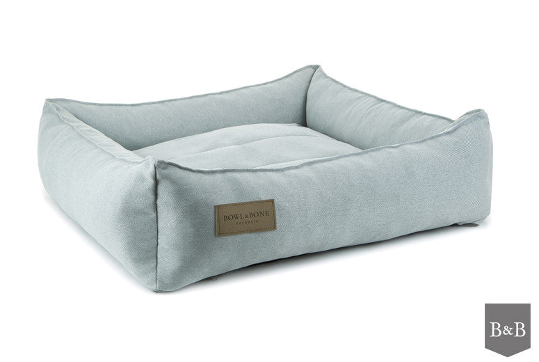 Bowl & Bone Republic Urban Dog Bed in Grey - PurrfectlyYappy