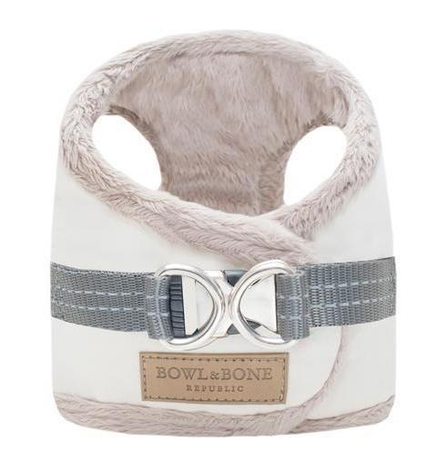 Bowl & Bone Republic Yeti Dog Harness - Cream