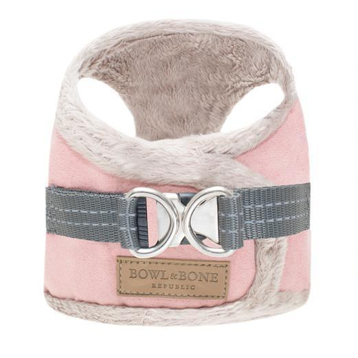 Bowl & Bone Republic Yeti Dog Harness - Pink