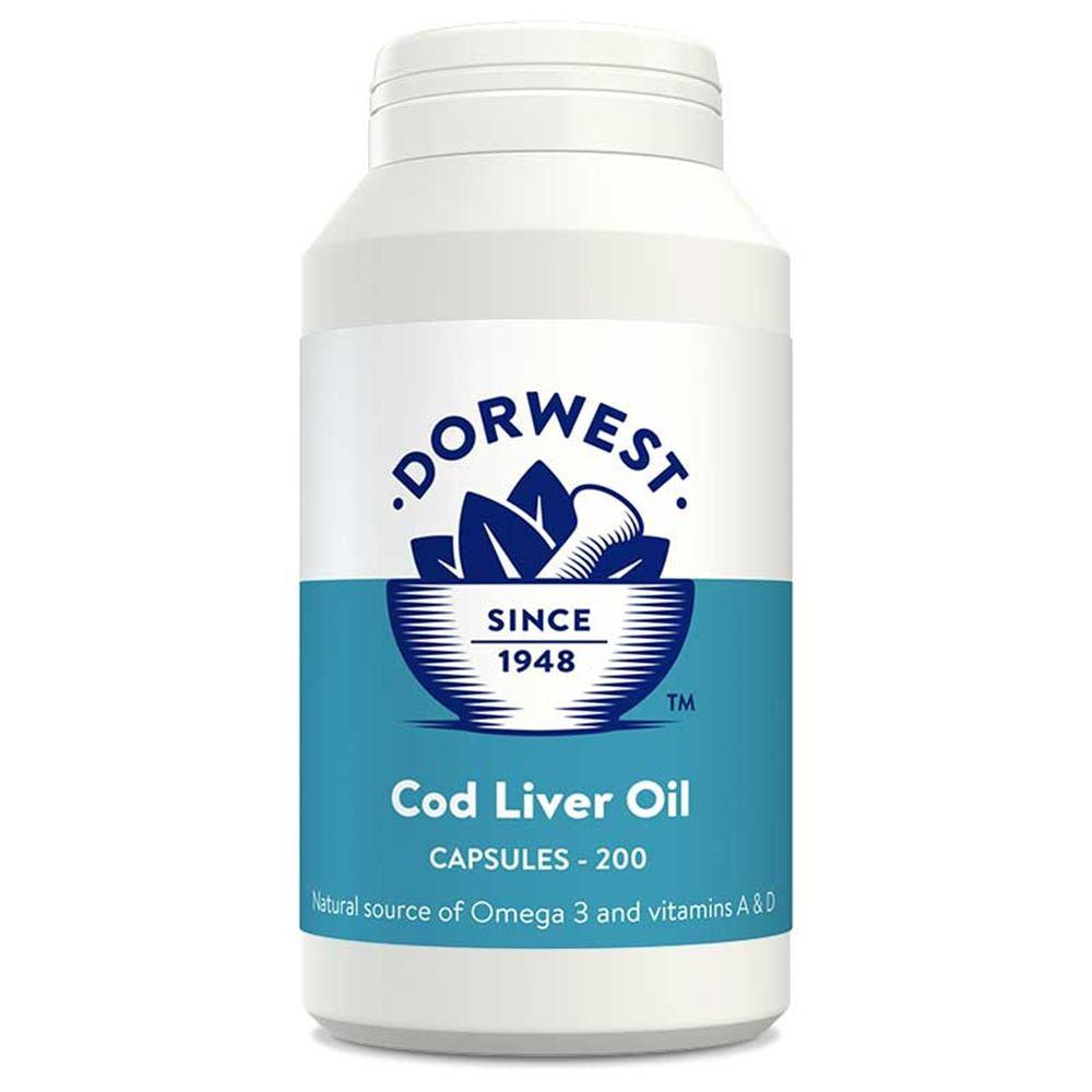 Dorwest Cod Liver Oil Capsules for Dog and Cats - PurrfectlyYappy