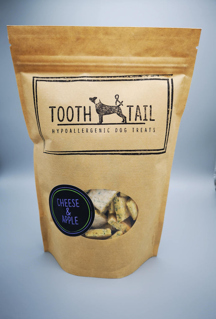 Tooth & Tail Cheese & Apple Dog Treats