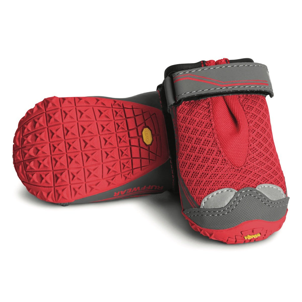 Ruffwear Grip Trex Dog Boots - Red