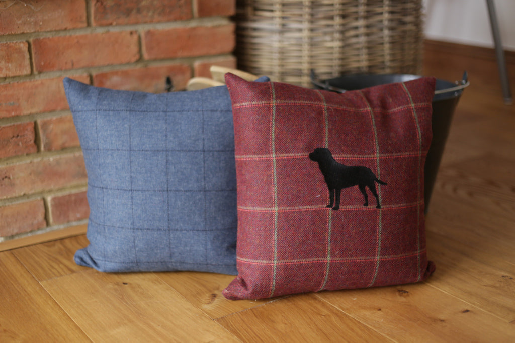 Hunt & Wilson Luxury Scatter Cushion Personalised - PurrfectlyYappy