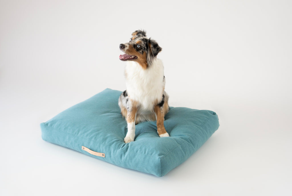 Labbvenn Copenhagen Dog Bed in Teal
