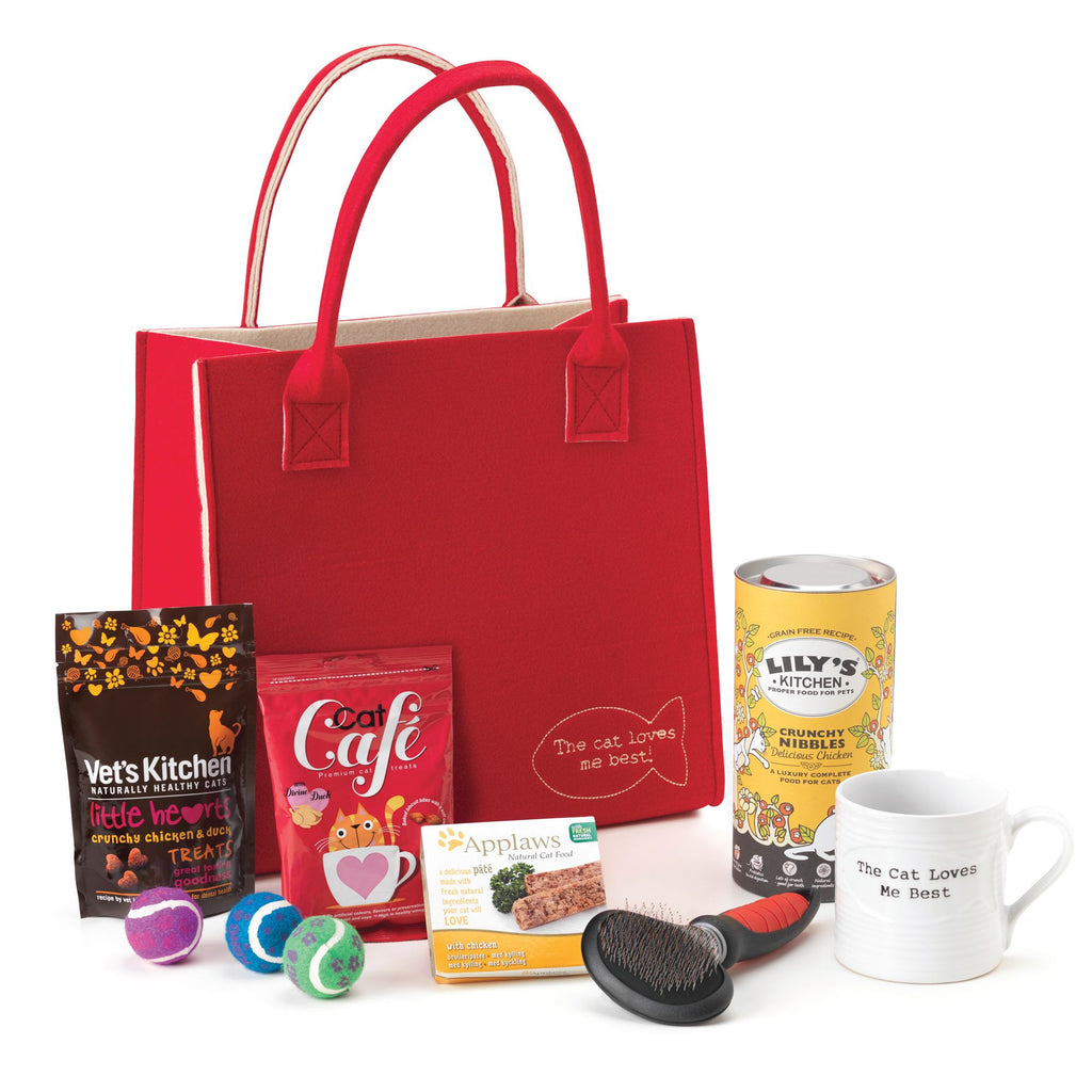 Luxury Cat Treat Tote Gift Set - PurrfectlyYappy