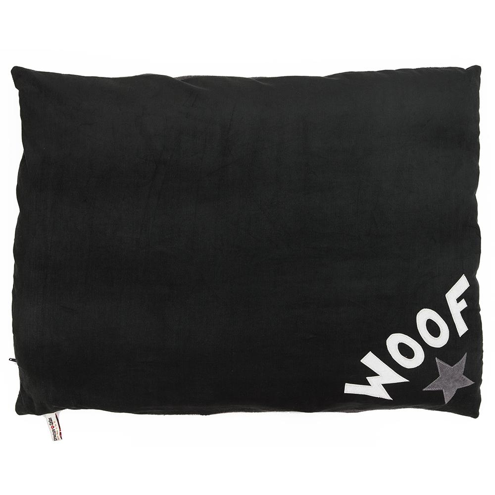 Creature Clothes Charcoal Star Woof Doza Dog Bed - PurrfectlyYappy
