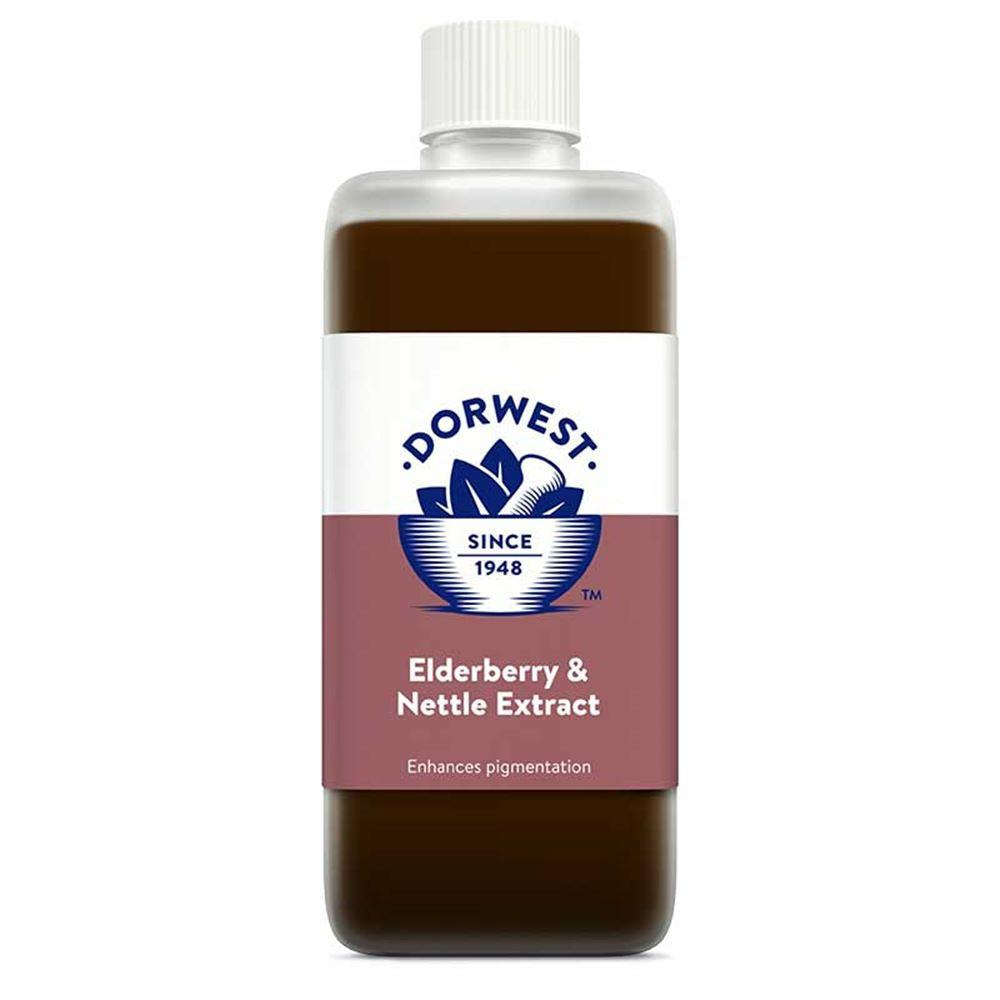 Dorwest Elderberry & Nettle Extract Capsules for Dog and Cats - PurrfectlyYappy