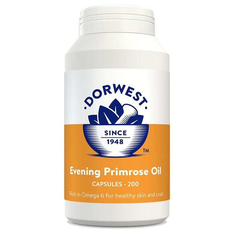 Dorwest Evening Primrose Oil Capsules for Dog and Cats - PurrfectlyYappy