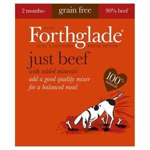 Forthglade Just Beef Grain Free Dog Food 18 x 395g