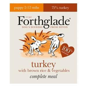 Forthglade Complete Turkey Puppy Food 18 x 395g