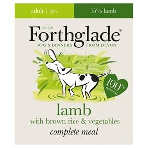 Forthglade Complete Lamb Dog Food 18 x 395g