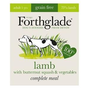 Forthglade Complete Grain Free Lamb Adult Dog Food 18 x 395g