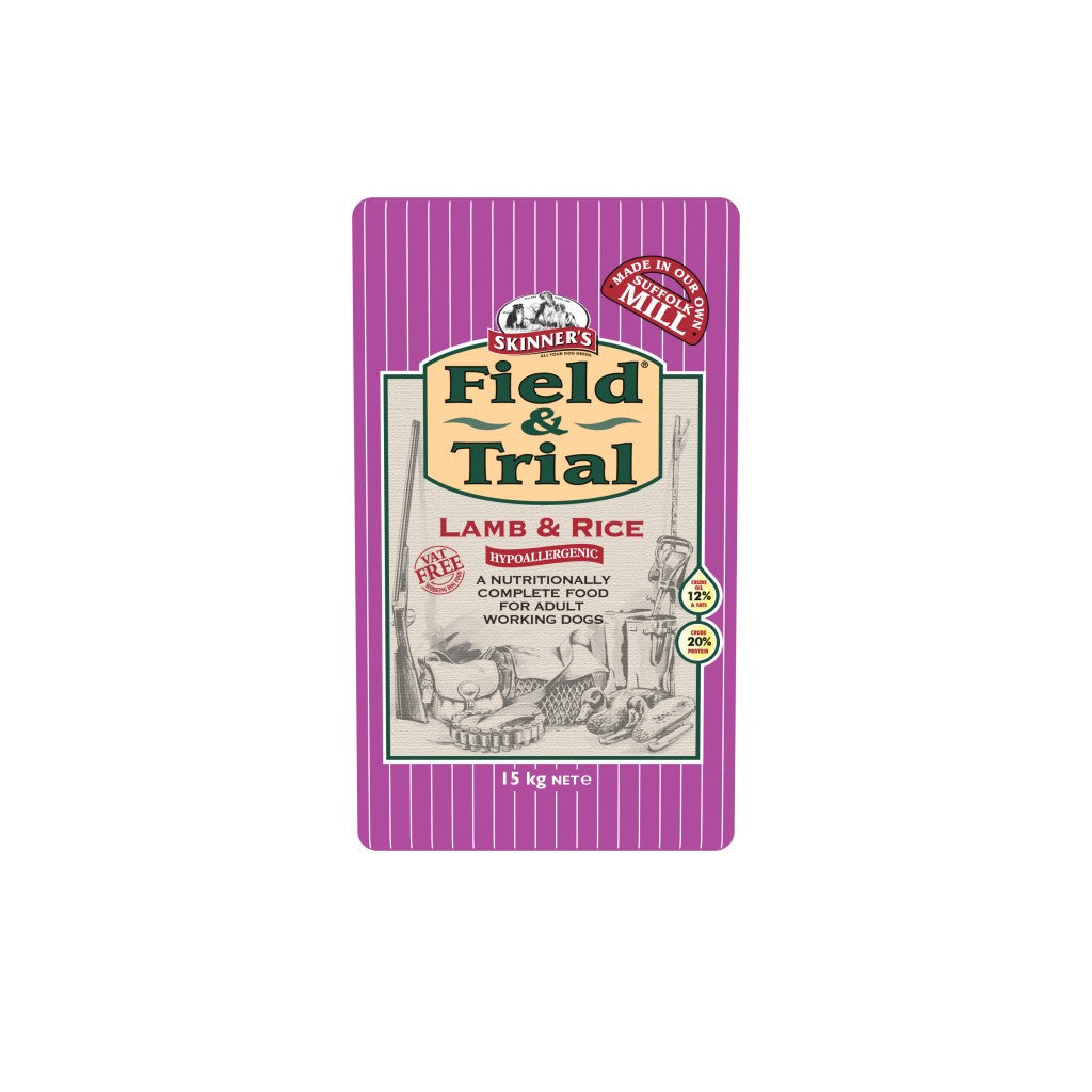 Skinners Field & Trial Lamb & Rice - PurrfectlyYappy