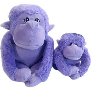 Gor Pets Gor Hugs Gorilla Dog Toy - Mommy Gorilla