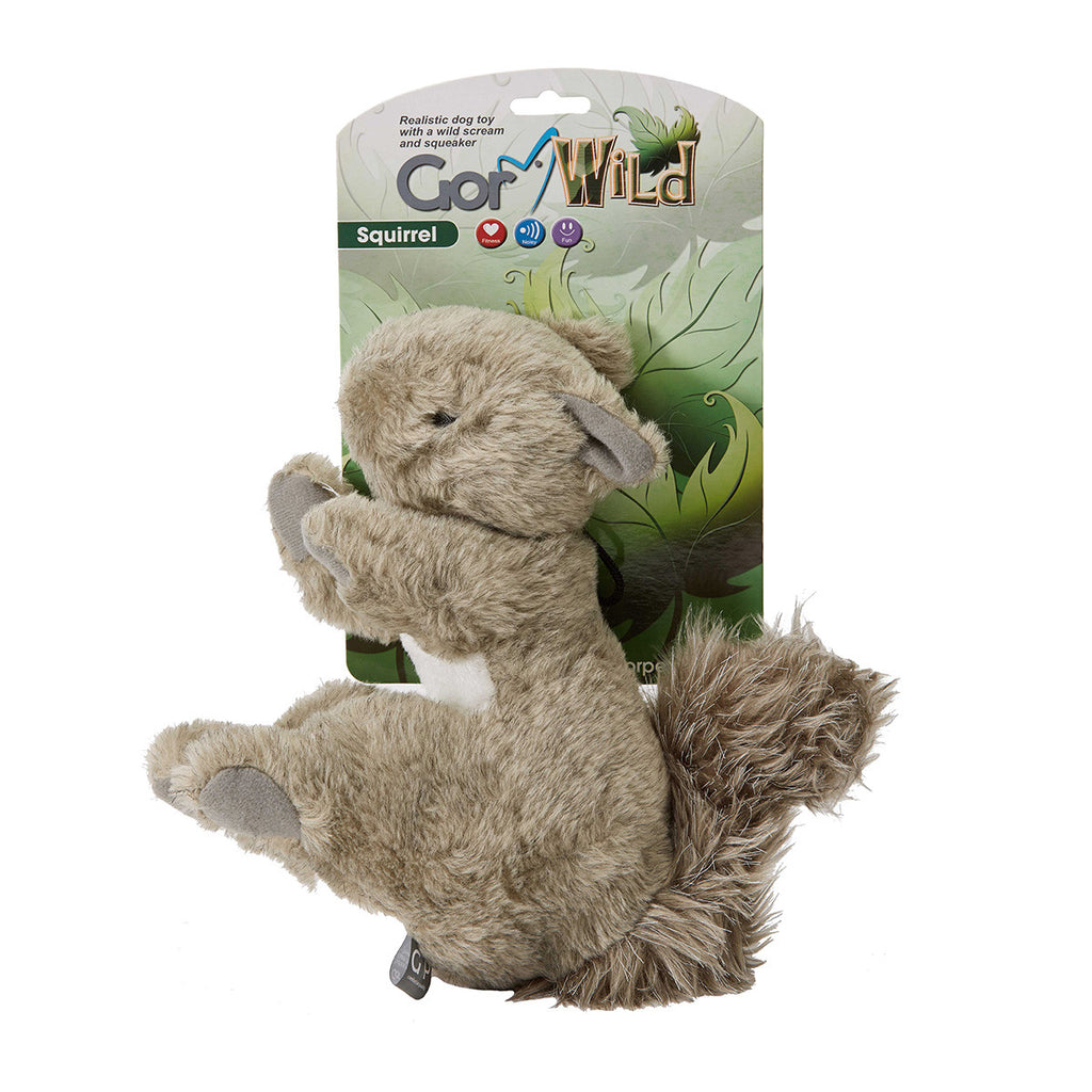 Gor Pets Wild Squirrel Toy - PurrfectlyYappy