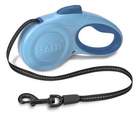 HALTI Retractable Lead in Blue - PurrfectlyYappy